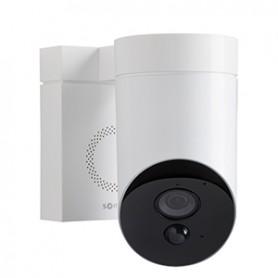 Caméra de Surveillance Exterieure Somfy Outdoor Camera Blanche