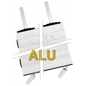 Tabliers  43x8,5 Alu blanc sur mesure pour volet roulant