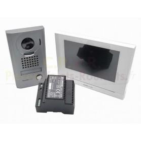 Interphone-Portier platine saillie wifi avec Vidéo LCD 7 Pouces Intercom AIPHONE
