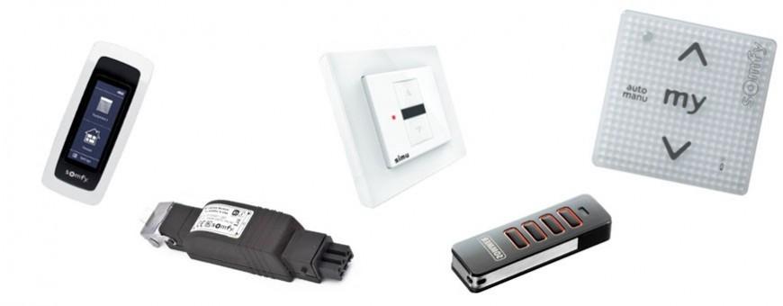 Inverseur, Emetteur, Télécommandes pour volet roulant, store, garage, portail